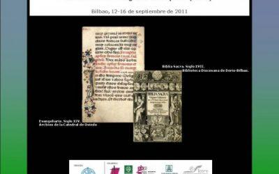 XXVI Congreso: Bilbao, 2011 Exposición Biblias
